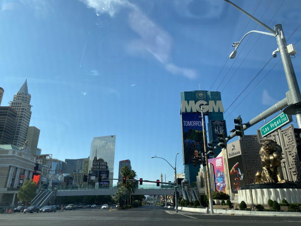 empty Vegas