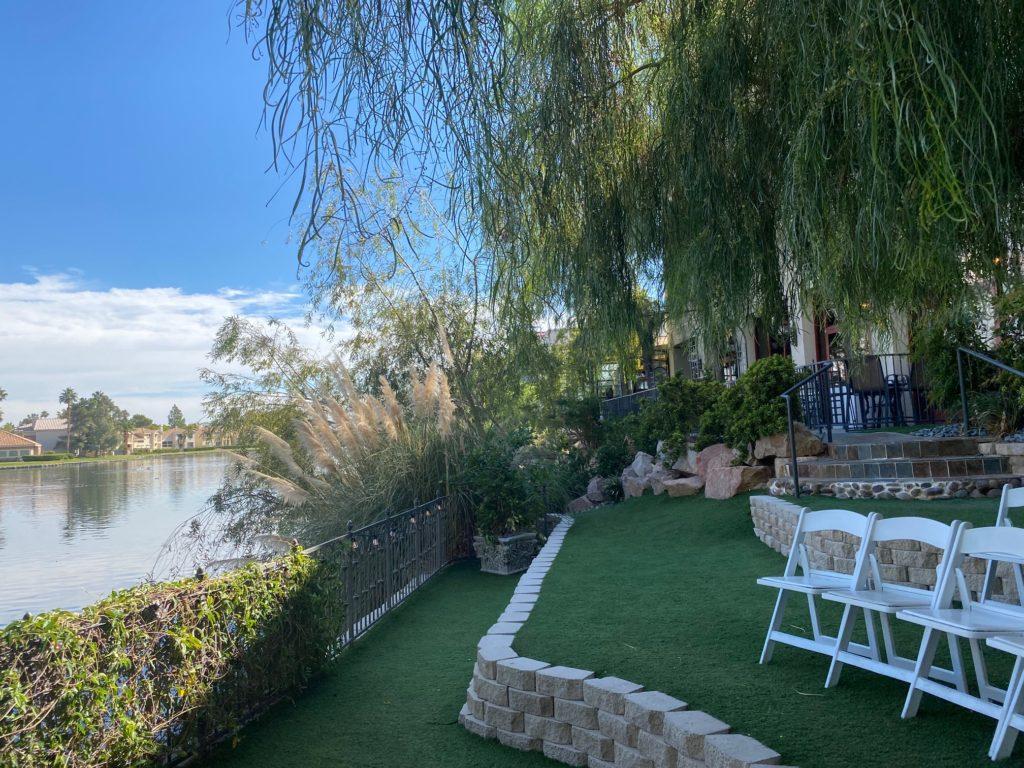 Marche, lakeside wedding venue