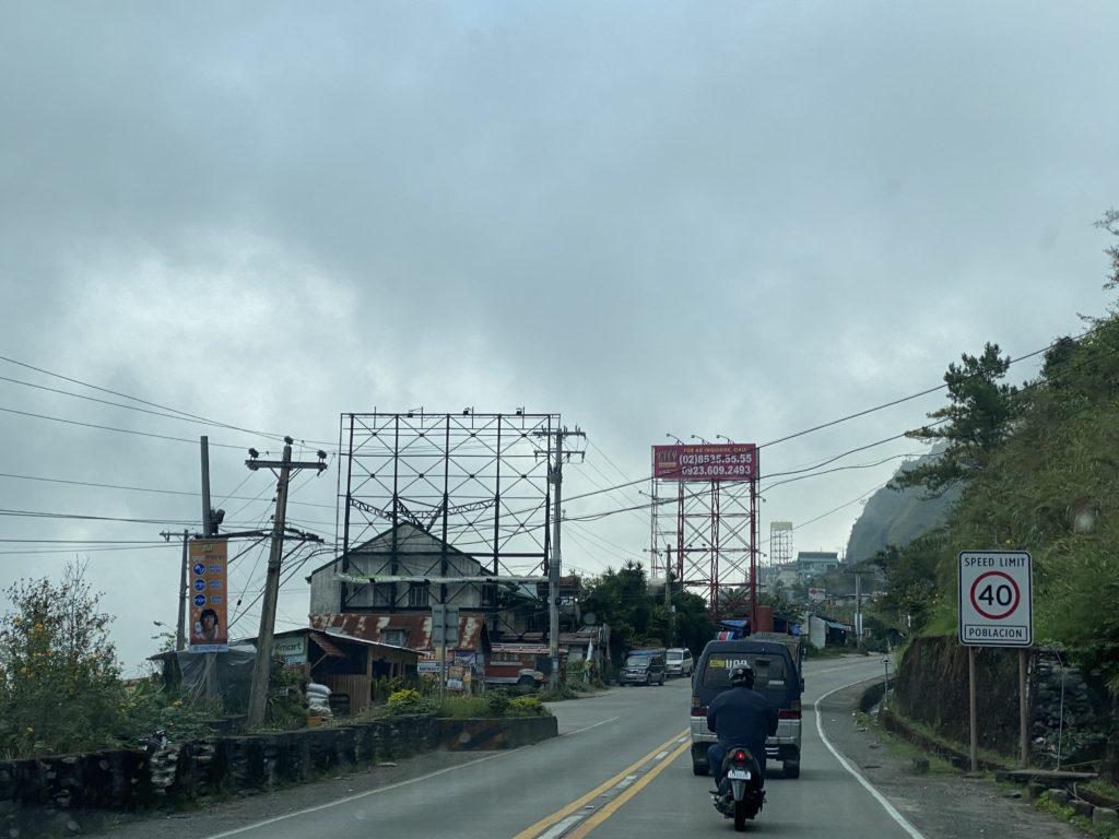 billboards in Baguio