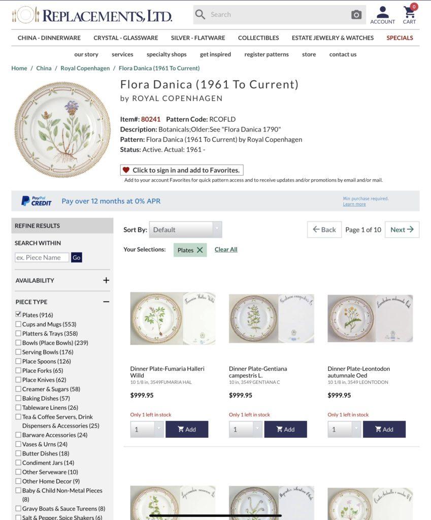 Flora Danica plates