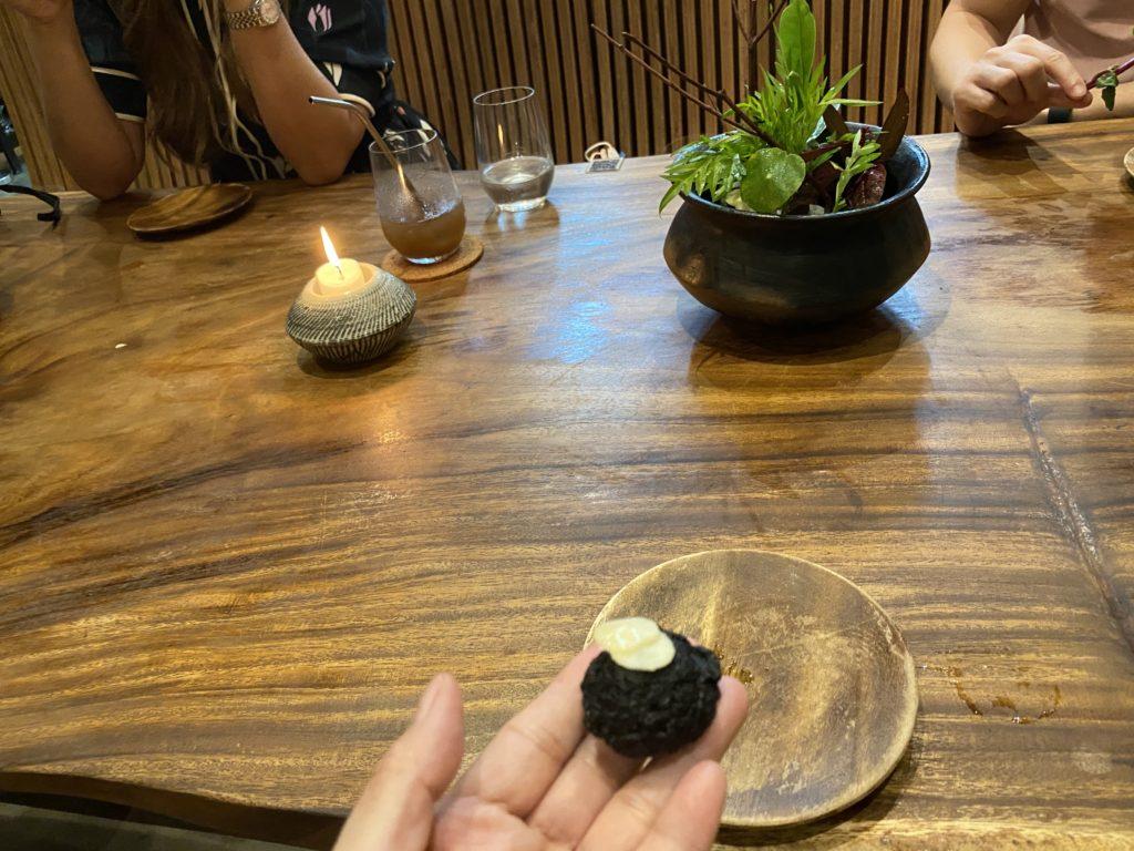 Hapag, appetizer dumpling