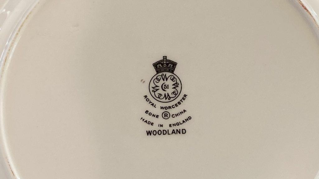 Royal Worcester stamp