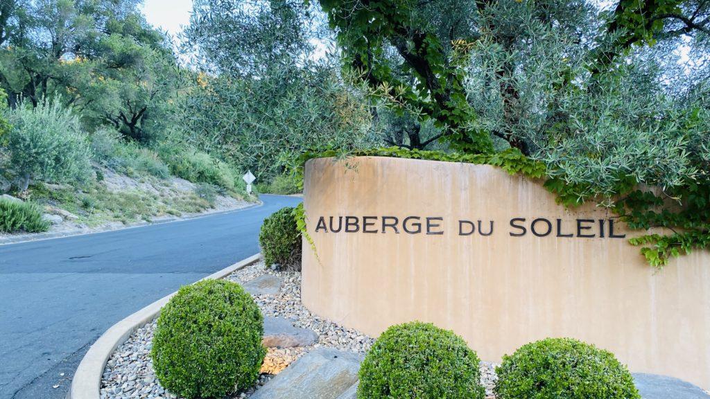 Auberge entrance