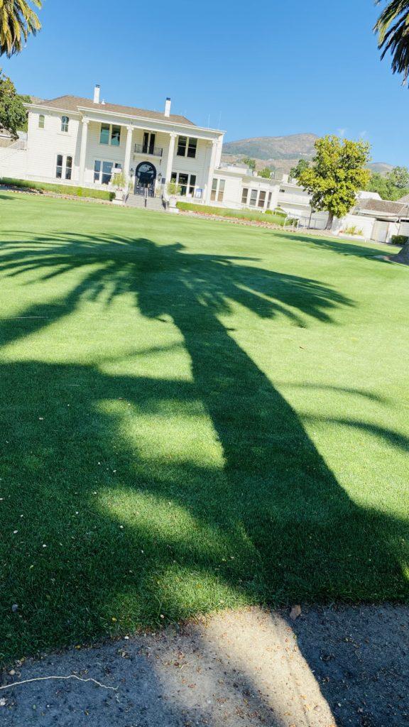 Silverado front lawn