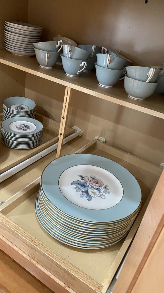 Royal Worcrster plates