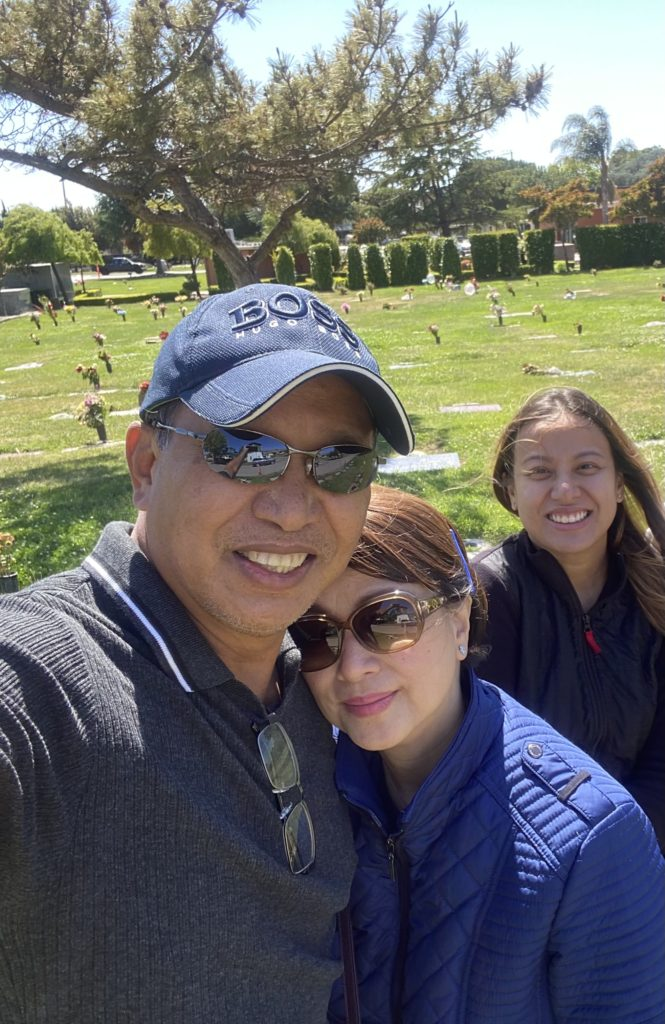 visit to the cemetery