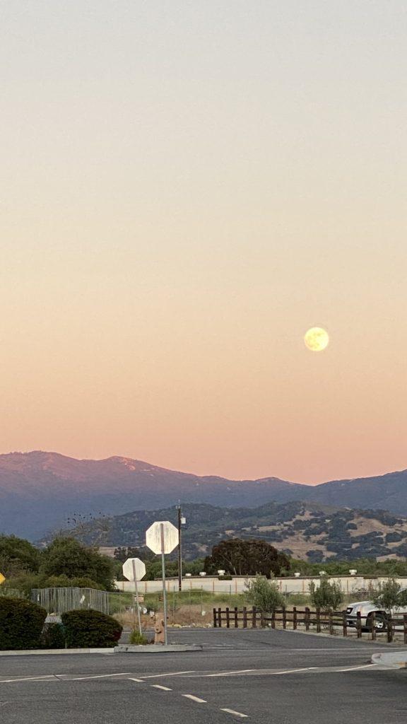 Moon in Buellton