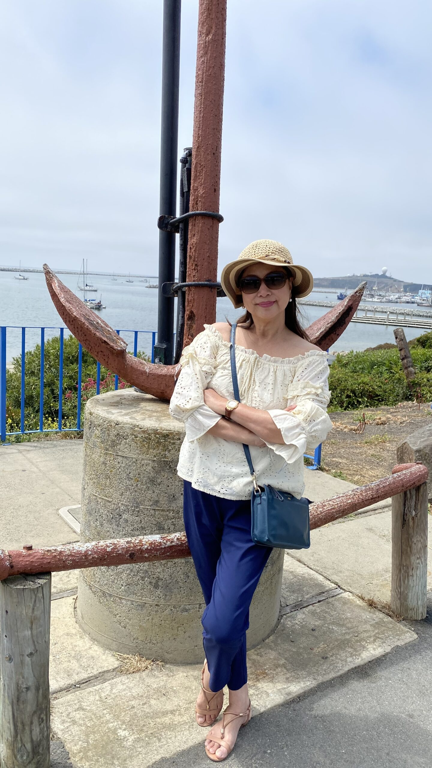 Annie Tan Yee in Half-moon bay