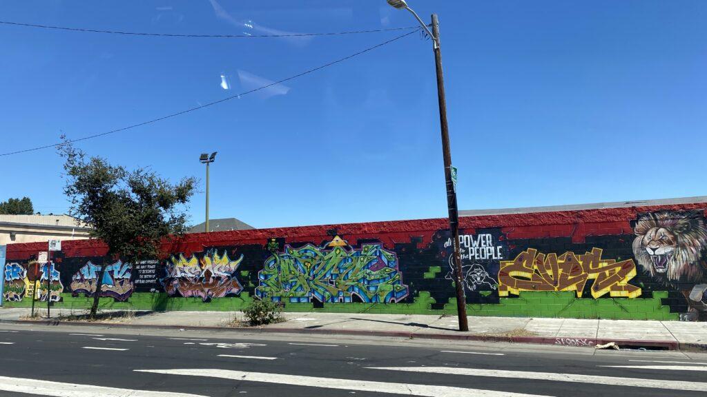 Oakland wall murals