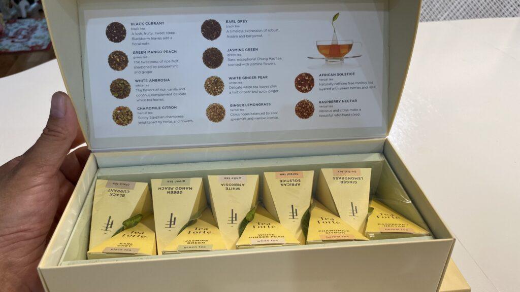Tea Forte , Tea