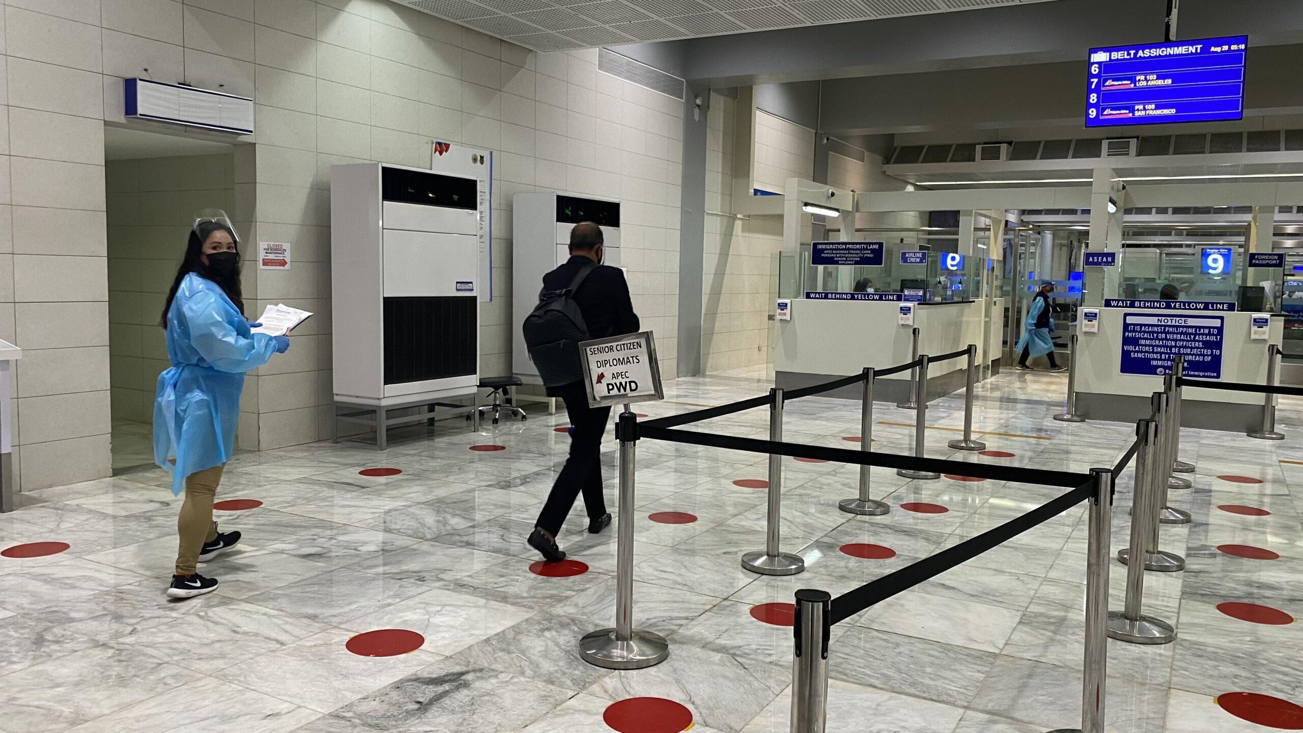 ECY at NAIA airport