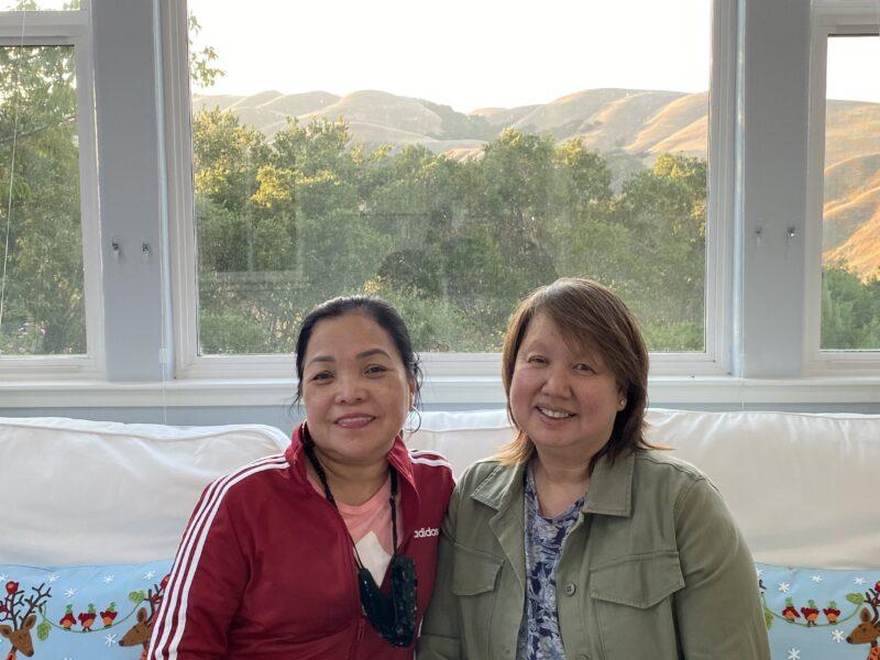 Sandra and Ayleen